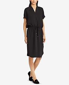 Lauren Ralph Lauren Drawstring Dress