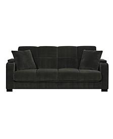 Velvet Susan Storage Arm Convert-a-Couch®