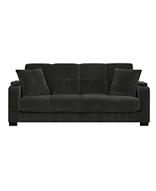 Super Sunday Theory Oak Creek Click Clack Futon Sofa Bed In Navy Caraccident5 Cool Chair Designs And Ideas Caraccident5Info