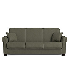 Robert Convert-a-Couch® in Basil Gray Linen