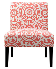 Noah Chair in Coral Medallion