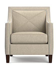 Ruben Arm Chair in Barley Tan Linen