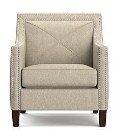 Ruben Linen Arm Chair