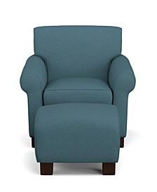 Wendy Chair & Ottoman