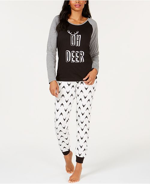... Family Pajamas Matching Women s Oh Deer Pajama Set fef823fbb