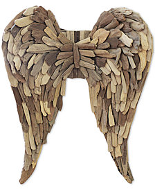 3R Studio Driftwood Angel Wings