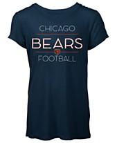 9764b6085 5th   Ocean Women s Chicago Bears Rayon V T-Shirt