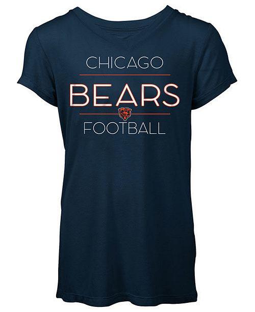 5th & Ocean Women's Chicago Bears Rayon V T-Shirt