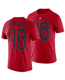 Nike Men's Rob Gronkowski Arizona Wildcats Name and Number T-Shirt