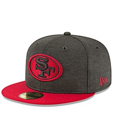 San Francisco 49ers On Field Sideline Home 59FIFTY FITTED Cap