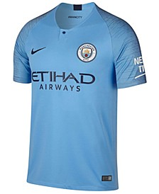 Men's Manchester City Club Team Home Stadium Jersey
