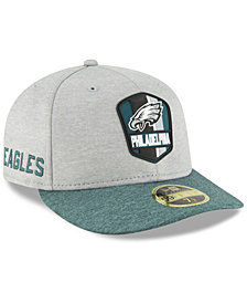 New Era Philadelphia Eagles On Field Low Profile Sideline Road 59FIFTY FITTED Cap