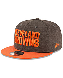 New Era Cleveland Browns On Field Sideline Home 9FIFTY Snapback Cap