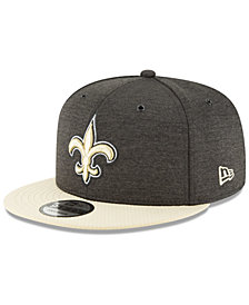 New Era New Orleans Saints On Field Sideline Home 9FIFTY Snapback Cap