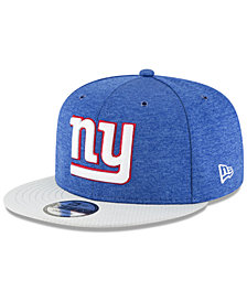 New Era New York Giants On Field Sideline Home 9FIFTY Snapback Cap