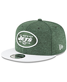 New Era New York Jets On Field Sideline Home 9FIFTY Snapback Cap