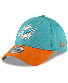 New Era Miami Dolphins On Field Sideline Home 39THIRTY Cap
