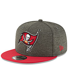 New Era Tampa Bay Buccaneers On Field Sideline Home 9FIFTY Snapback Cap