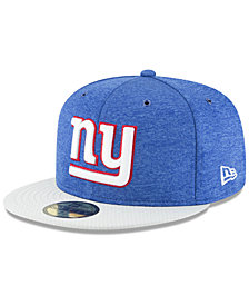 New Era New York Giants On Field Sideline Home 59FIFTY FITTED Cap
