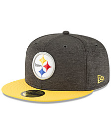 New Era Pittsburgh Steelers On Field Sideline Home 59FIFTY FITTED Cap