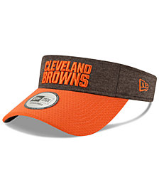 New Era Cleveland Browns On Field Sideline Visor