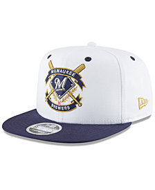 New Era Milwaukee Brewers Crest 9FIFTY Snapback Cap