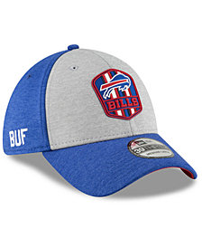 New Era Buffalo Bills On Field Sideline Road 39THIRTY Stretch Fitted Cap