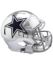 Riddell Dallas Cowboys Speed Chrome Alt Replica Helmet