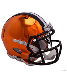 Riddell Cleveland Browns Speed Chrome Alt Mini Helmet