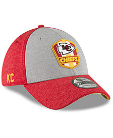 New Era Kansas City Chiefs On Field Sideline Road 39THIRTY Stretch Fitted Cap