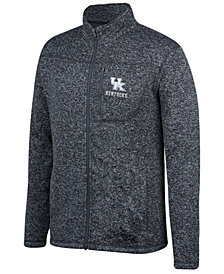Top of the World Men's Kentucky Wildcats Pioneer Full-Zip Marled Sweater