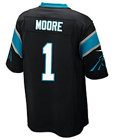 Nike Men's D.J. Moore Carolina Panthers Game Jersey