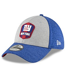 New Era New York Giants On Field Sideline Road 39THIRTY Stretch Fitted Cap