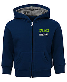 Outerstuff Seattle Seahawks Zone Full-Zip Hoodie, Toddler Boys (2T-4T)