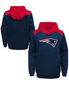 Outerstuff New England Patriots Off The Grid Hoodie, Little Boys (4-7)