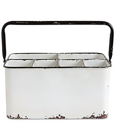Metal Caddy with 6 Compartments