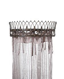 Metal Curtain Crown