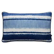 Graham & Brown Ikat Strip Blue Pillow