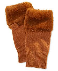 Steve Madden Faux Fur Hand Warmer