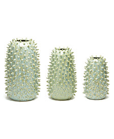 Spikes Set of 3 Vases