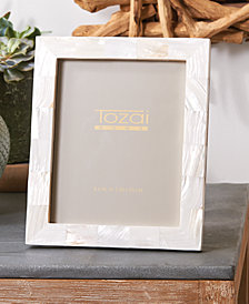 Pearly White Photo Frame in Gift Box