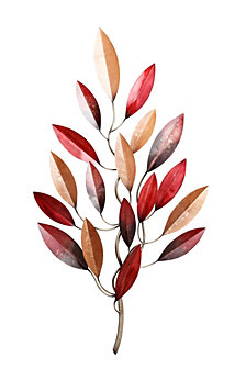 MultiColor Tree Wall Decor