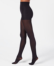 DKNY Women's Ribbed Skinsense Tights