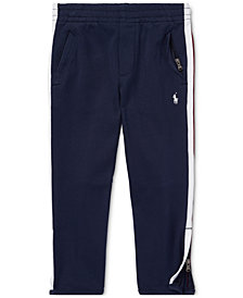 Polo Ralph Lauren Little Boys Cotton Interlock Track Pants