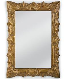 Tramp Art Mirror, Quick Ship