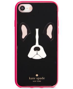 Kate Spade New York Antoine Iphone 8 Case in Black Multi- 8 Dog