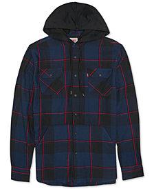 Levi's® Men's Prince Hooded Plaid Shirt