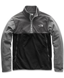 The North Face Men's Glacier Alpine Quarter-Zip Fleece
