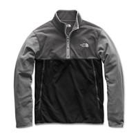 Deals on The North Face Men's Glacier Alpine Quarter-Zip Fleece
