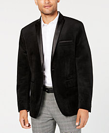 I.N.C. Men's Classic Fit Max Velvet Blazer, Created for Macy's